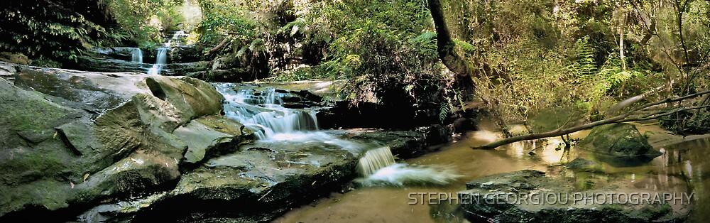 Summer Flow in the Lords Bluemountains by STEPHEN GEORGIOU PHOTOGRAPHY
