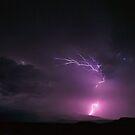 Grand Mesa Lightning Strike by TwisterKidMedia