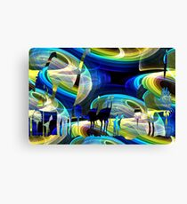 A Space in Time Canvas Print