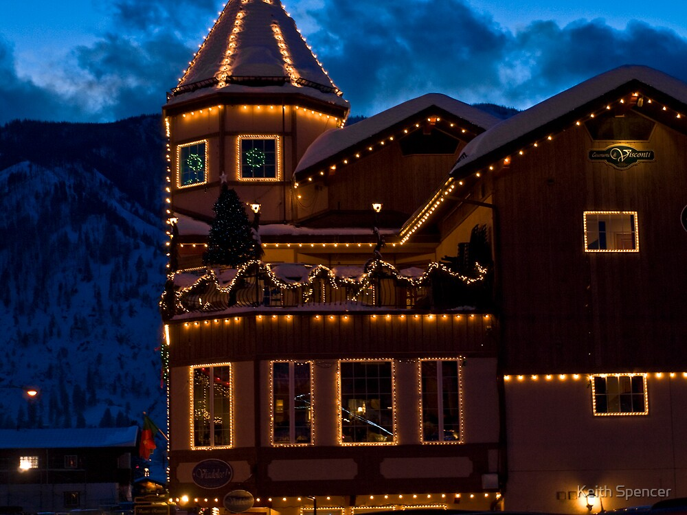 Leavenworth Lights by Keith Spencer