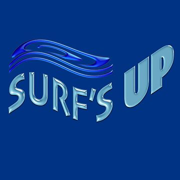 Surf's Up Wave Design by suzetteransome
