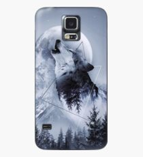 Howl with the Wolf Case/Skin for Samsung Galaxy
