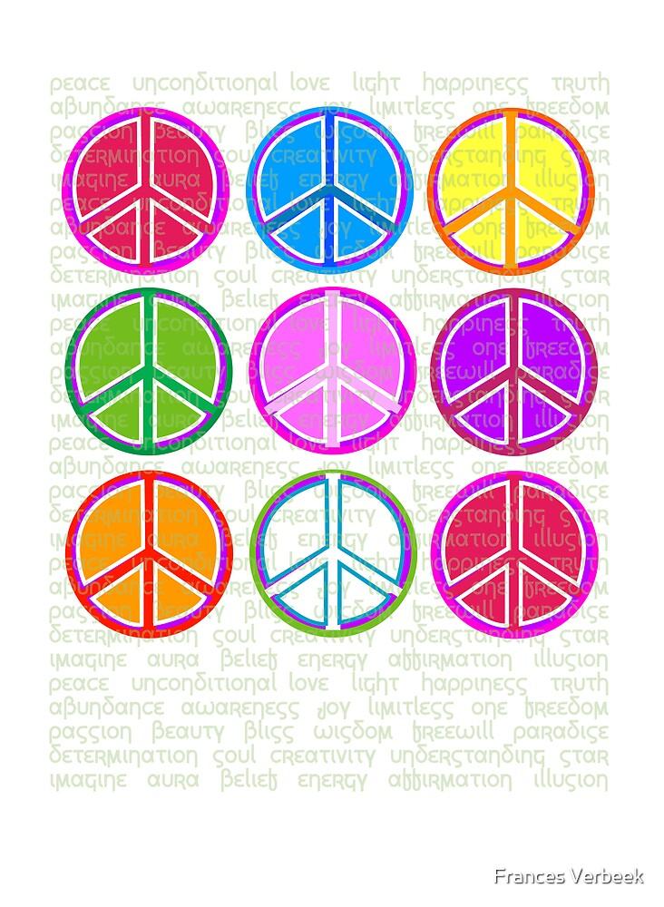 happi Peace by Frances Verbeek
