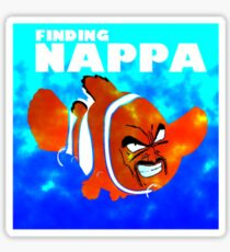Finding Nappa Sticker