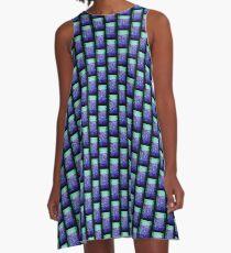 Weedwall A-Line Dress