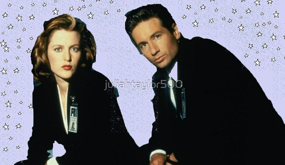 Scully and mulder by juliahtaylor500