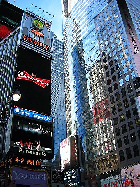 Times Square by AnneRN