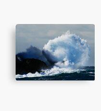 Detonating Wave Canvas Print