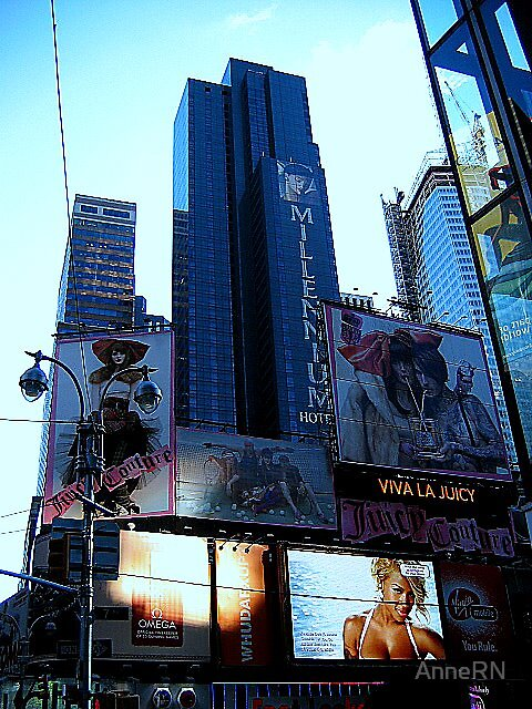 New York Times Square by AnneRN