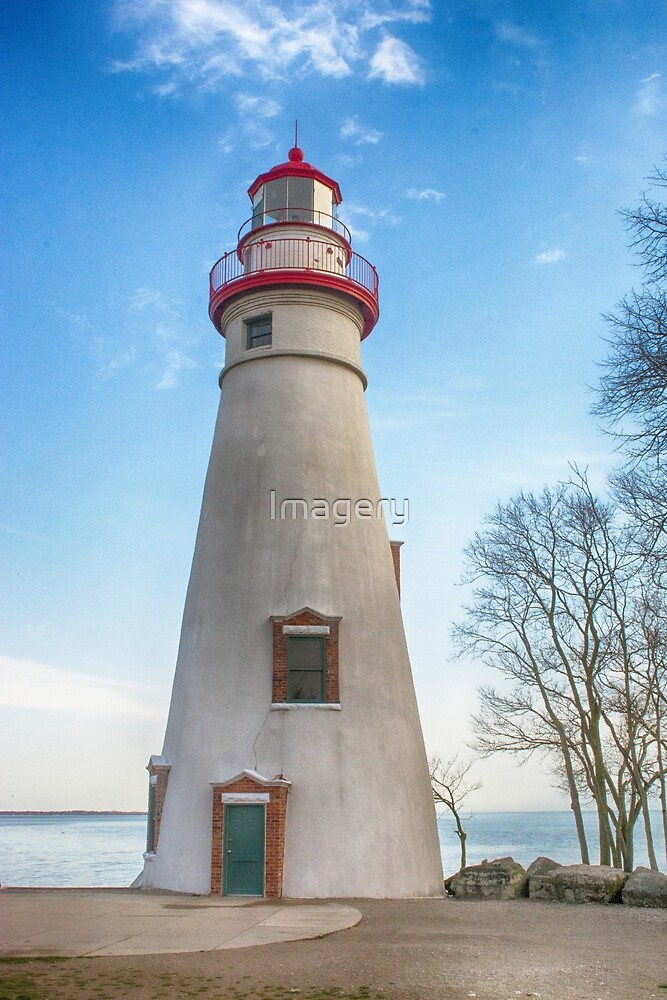 Marblehead Light House Lake Erie by Imagery