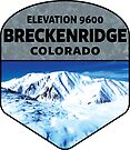 BRECKENRIDGE COLORADO MOUNTAINS SKIING SNOWBOARDER SKI SKIIER by MyHandmadeSigns