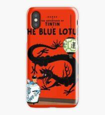 Tintin - The Blue Lotus iPhone Case/Skin