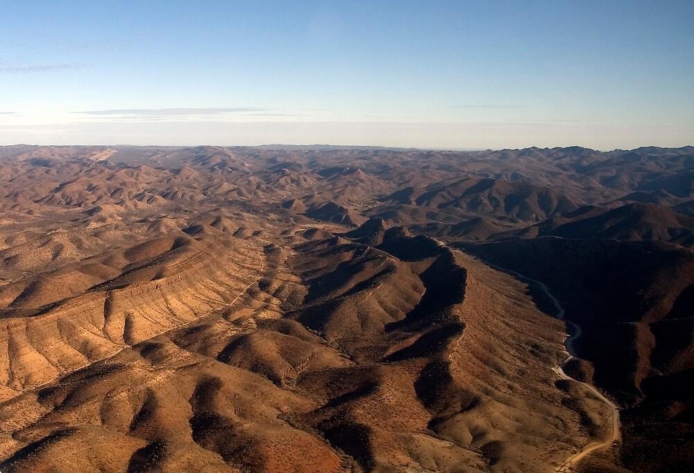 Flinders Ranges near Arkaroola by Bevan Anderson