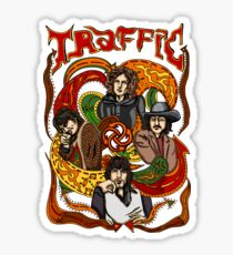 Traffic band, Steve Winwood Sticker
