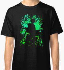 Levi Inspired Paint Splatter Anime Shirt Classic T-Shirt