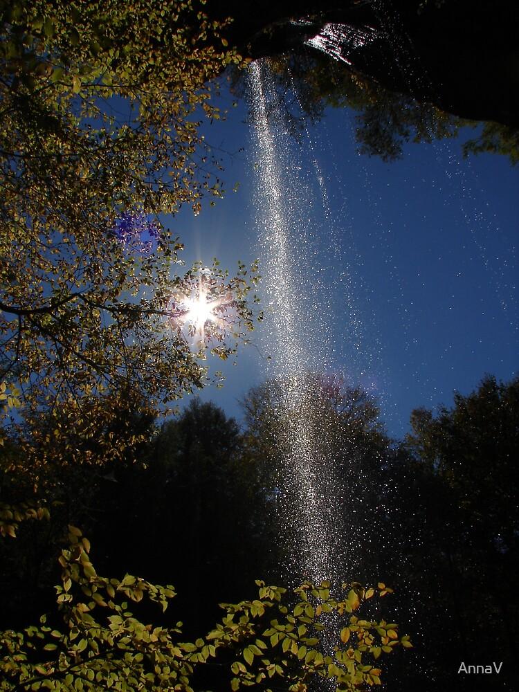 nature's shower by AnnaV