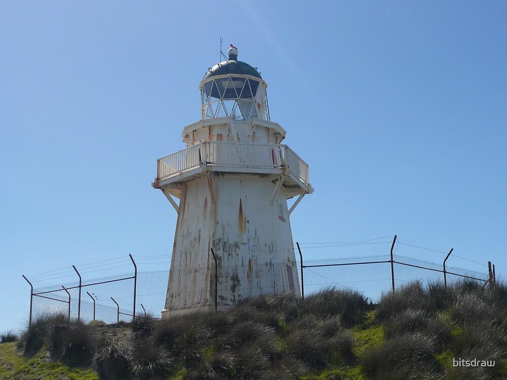 Waipapa Lighthouse  by bitsdraw