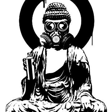 BUDDHA BURNS by WiseApples