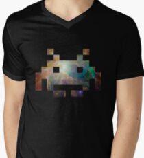 Space Invaders Mens V-Neck T-Shirt