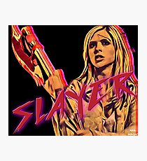 Buffy - The Slayer Photographic Print