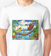 Simba, Timon, and Pumba  Unisex T-Shirt