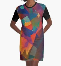 The Rocks by the Lighthouse Graphic T-Shirt Dress