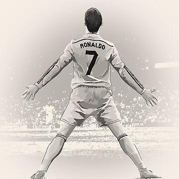 Cristiano Ronaldo - Real Madrid by barrymasterson
