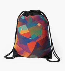 The Rocks by the Lighthouse Drawstring Bag