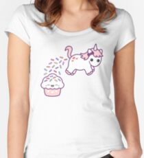 Sprinkle Poo Women's Fitted Scoop T-Shirt