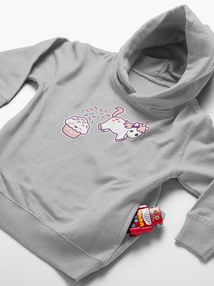 Alternate view of Sprinkle Poo  Toddler Pullover Hoodie