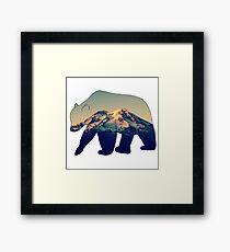 Pacific Northwest Bear Framed Print
