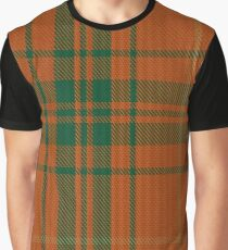 Wolfe Clan/Family Tartan  Graphic T-Shirt