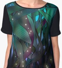 Nocturne (with Fireflies) Chiffon Top