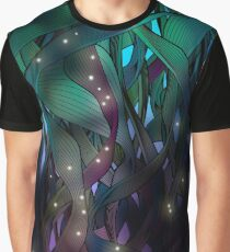 Nocturne (with Fireflies) Graphic T-Shirt