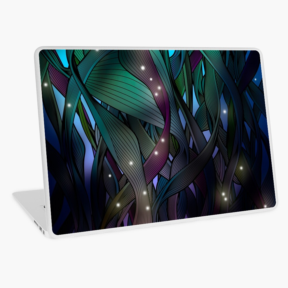Nocturne (with Fireflies) Laptop Skin