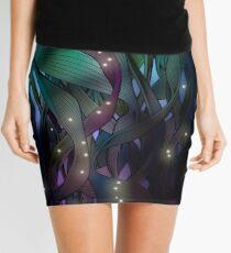Nocturne (with Fireflies) Mini Skirt