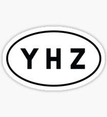 Euro Sticker - YHZ - Halifax Stanfield International Airport Sticker