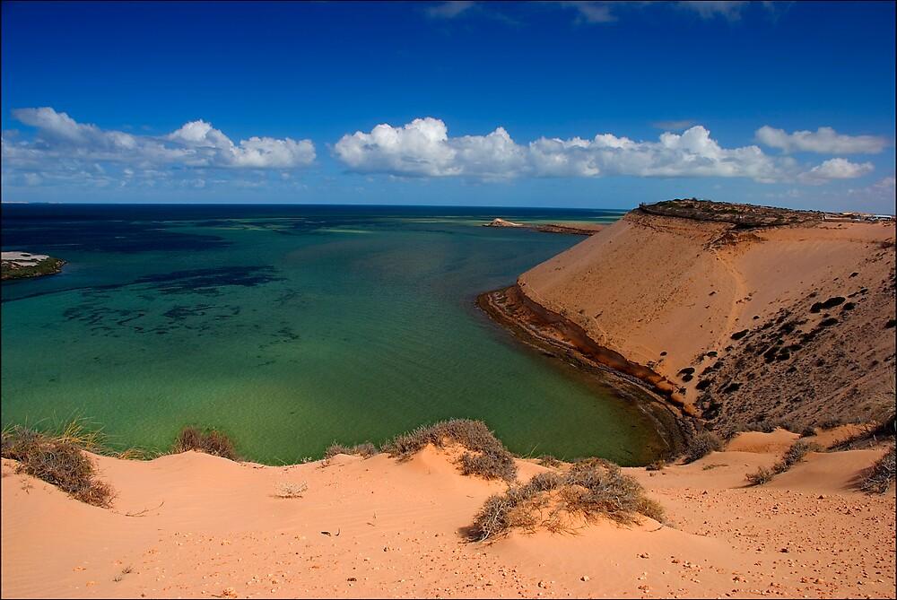 Eagle Bluff, Shark Bay by Damiend