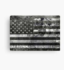 usa flag american flag 4 Canvas Print