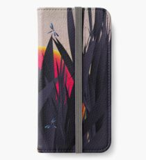 Red Heat (with Dragonflies) iPhone Wallet/Case/Skin