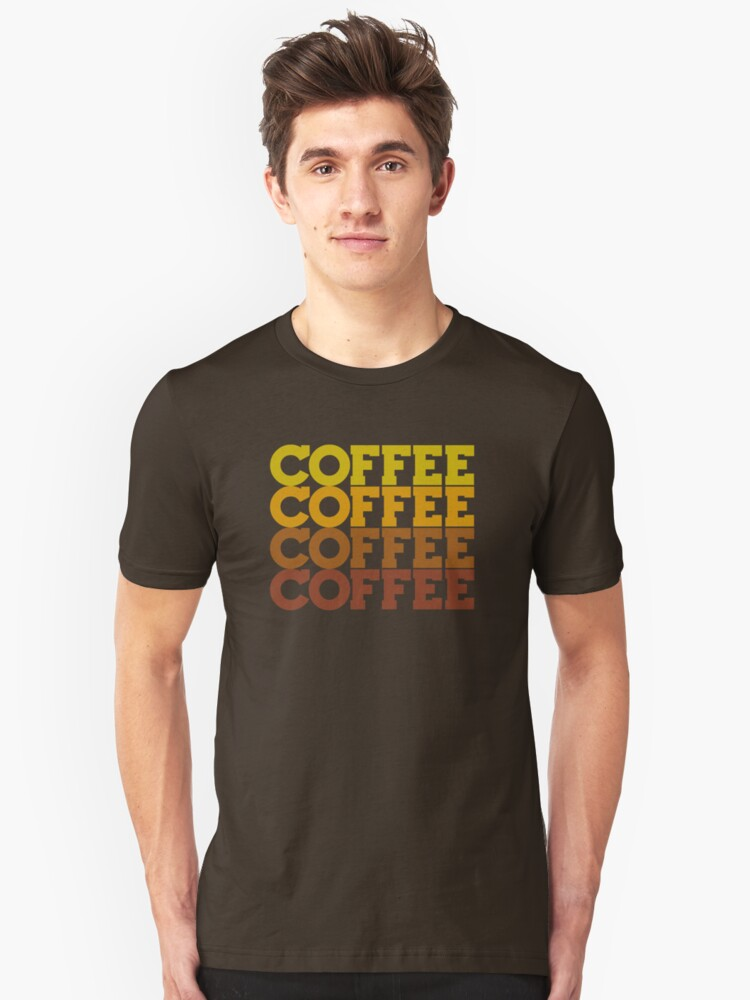 Coffee Stack - From Beans to Brew Unisex T-Shirt Front