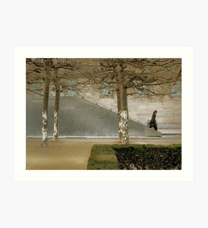 Modern Cityscape Art Print