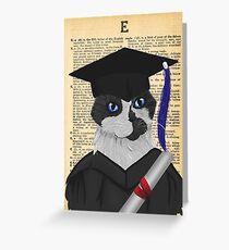 Grad Announcement Greeting Card
