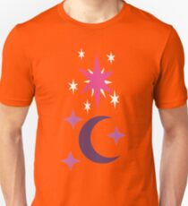 My little Pony - Moondancer + Twilight Cutie Mark V3 Unisex T-Shirt