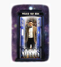 Ninth Doctor Blue Box T-Shirt / Hoodie Photographic Print
