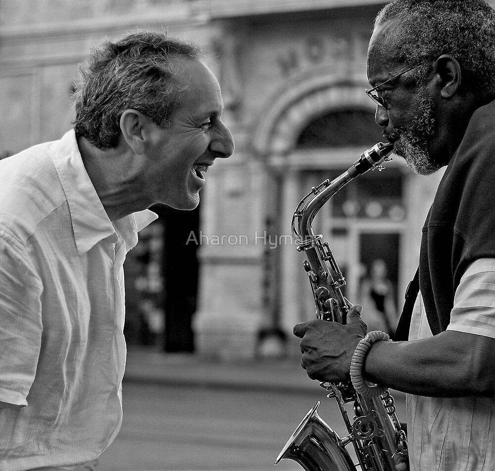 singing saxophone by Allan Hyman
