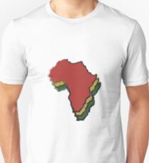 Mama Africa Motherland: Reggae Colors Unisex T-Shirt