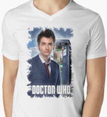 Nerdy Dr Who T-Shirt / Hoodie Mens V-Neck T-Shirt