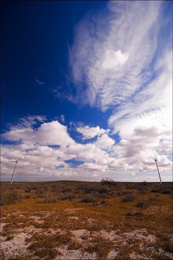 Denham Wind Farm by Damiend