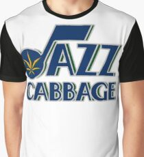 Jazz Cabbage Graphic T-Shirt